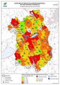 Az általános iskolai tanulók száma 2010-ben - Fejér megye