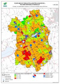 Közép- és szakiskolák száma, 15-18 évesek aránya - Fejér megye