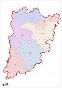 Bács-Kiskun megye, egyéni választókerületek (2011.12.30.)
