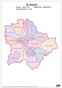 Budapest járásai