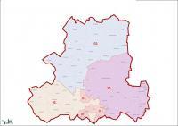 Csongrád megye, egyéni választókerületek (2011.12.30.)