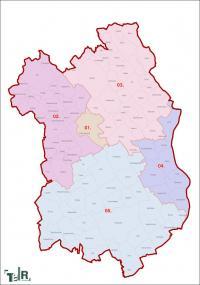 Fejér megye, egyéni választókerületek (2011.12.30.)