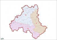 Heves megye, egyéni választókerületek (2011.12.30.)