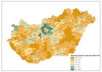 Népesség számának változása a járásokban 2001 és 2010 között