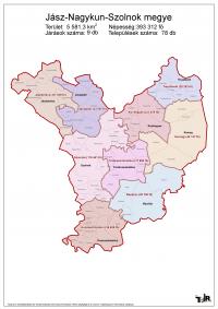 Jász-Nagykun-Szolnok megye járásai