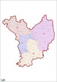 Jász-Nagykun-Szolnok megye, egyéni választókerületek (2011.12.30.)