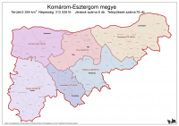 Komárom-Esztergom megye járásai