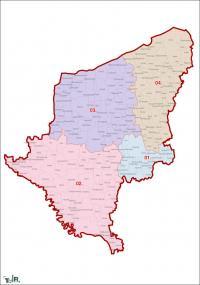 Somogy megye, egyéni választókerületek (2011.12.30.)