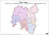 Tolna megye járásai