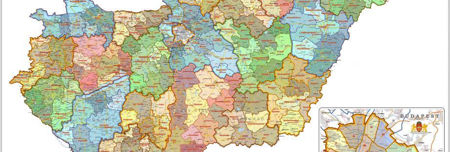 Magyarország járásai (2015)